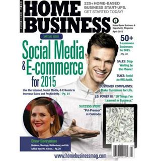 Home Business Magazine One Year Subscription