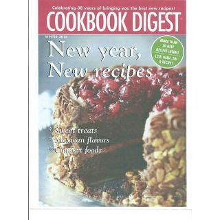 Cookbook Digest Four Year Digital Subscription