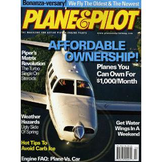 Plane & Pilot Magazine Two Year Subscription
