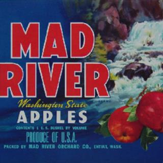 Mad River Washington Apples Label