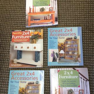 Set of Five 2 x 4 Construction Books