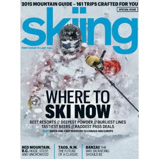 Skiing Magazine Four Year Subscription