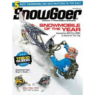 Snow Goer Magazine Two Year Subscription