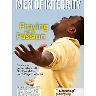 Men of Integrity Magazine One Year Subscription