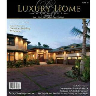 Three Full Page Ads in Luxury Home Magazine