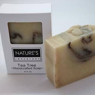 Tea Tree Chamomile and Rhassoul Clay Soap (pack of 3)