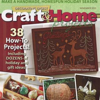 Decorating Digest - Craft & Home Projects (24 issues)