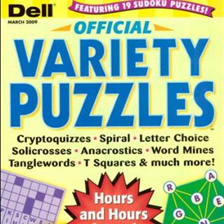 Dell Official Variety Puzzles (12 issues)