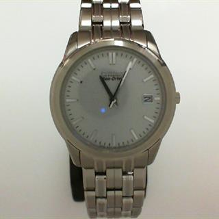 Citizen Eco-Drive Stainless Steel Men's Watch #505-10