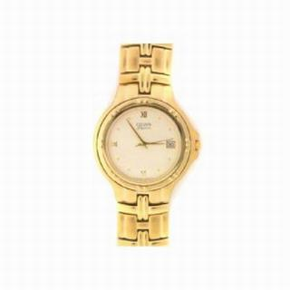 Citizen Mens Watch Gold Tone Stainless Steel Dress Watch 505-28