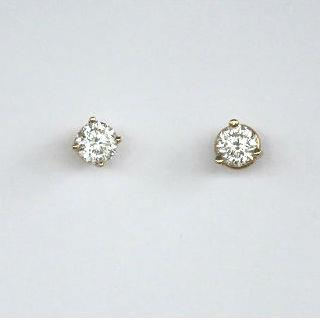Zolastar Brilliant Earrings .75ct in Yellow Gold
