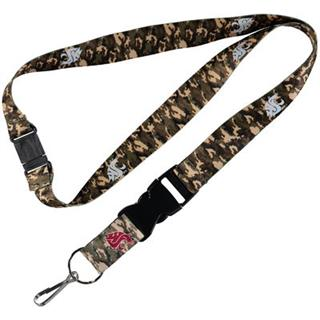 Washington State University - Camo Lanyard