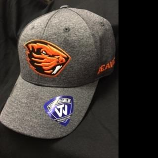 OSU Beavers Grey Fitted Hat