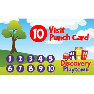 10-Visit Punch Card