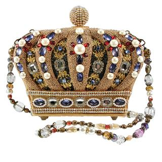 Mary Frances ''Queendom'' Handbag