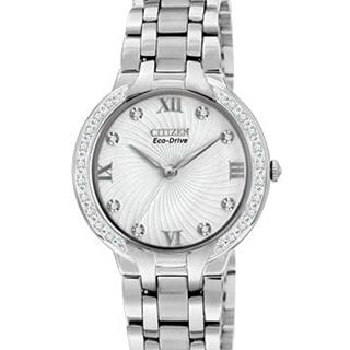 Ladies Citizen Watch – White Bella #500-64