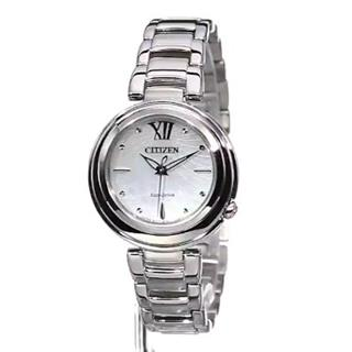 Citizen Mother-of-Pearl and Sapphire Crystal Ladies Watch #500-58