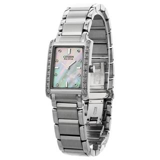 Citizen Ladies Watch Stainless Steel Palidoro Eco-Drive #500-42