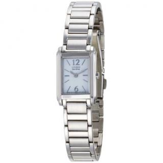 Citizen Ladies Watch Eco-Drive 180 Dress Watch White Dial #500-16