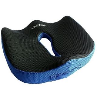Orthopedic Memory Foam Seat Cushion by LifeWyse