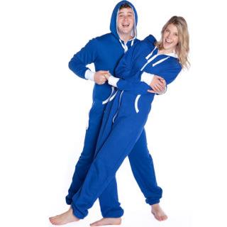 Hoodie Royal Blue Jumpsuit for Him or Her  (S M L XL 2XL)