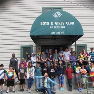 $5000 Donation to Boys & Girls Club Mukilteo New Building Fund