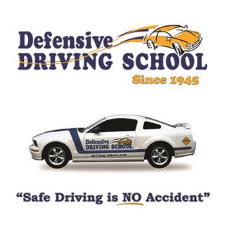 Defensive Driving School Logo and slogan