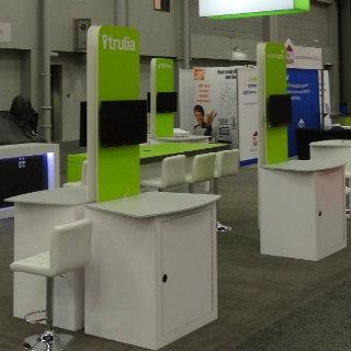 Experienced Tradeshow Elements- Demo Stations