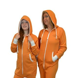 Orange is the New Black Prison Hoodie Jumpsuit Onesie - (Sizes S M L)