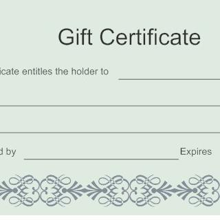 100.00 Gift Certificate for Home Services
