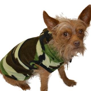 Pet Hoodie Sweater Pajamas for Dogs & Cats in Camouflage