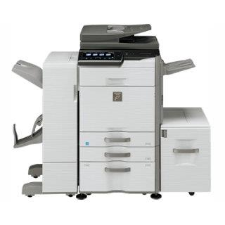 Sharp MX-3640n w/ center exit tray with cabinet or cassette