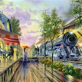 "Ken Shotwell ""Rendez-Vous/Train"" Limited Edition"