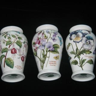 Three Portmeirion Vases
