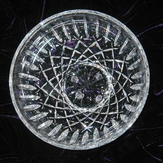 NEW Waterford cut crystal fruit bowl - 8 inches diameter