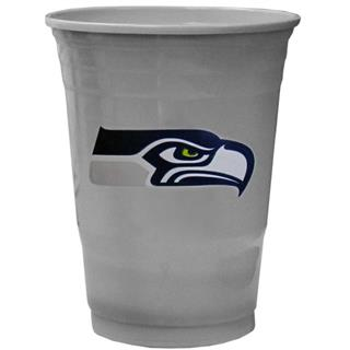 Seattle Seahawks Disposable Drink Cups 20 ounce - 18 per Sleeve