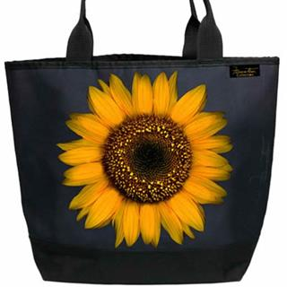 Large Sunflower Shopper Tote Bag