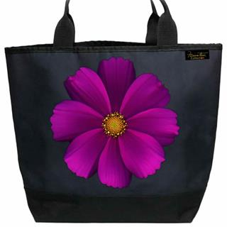 Large Purple Cosmos Shopper Tote Bag