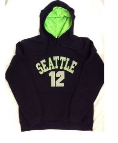Seattle Seahawks 12 Hoody- Large