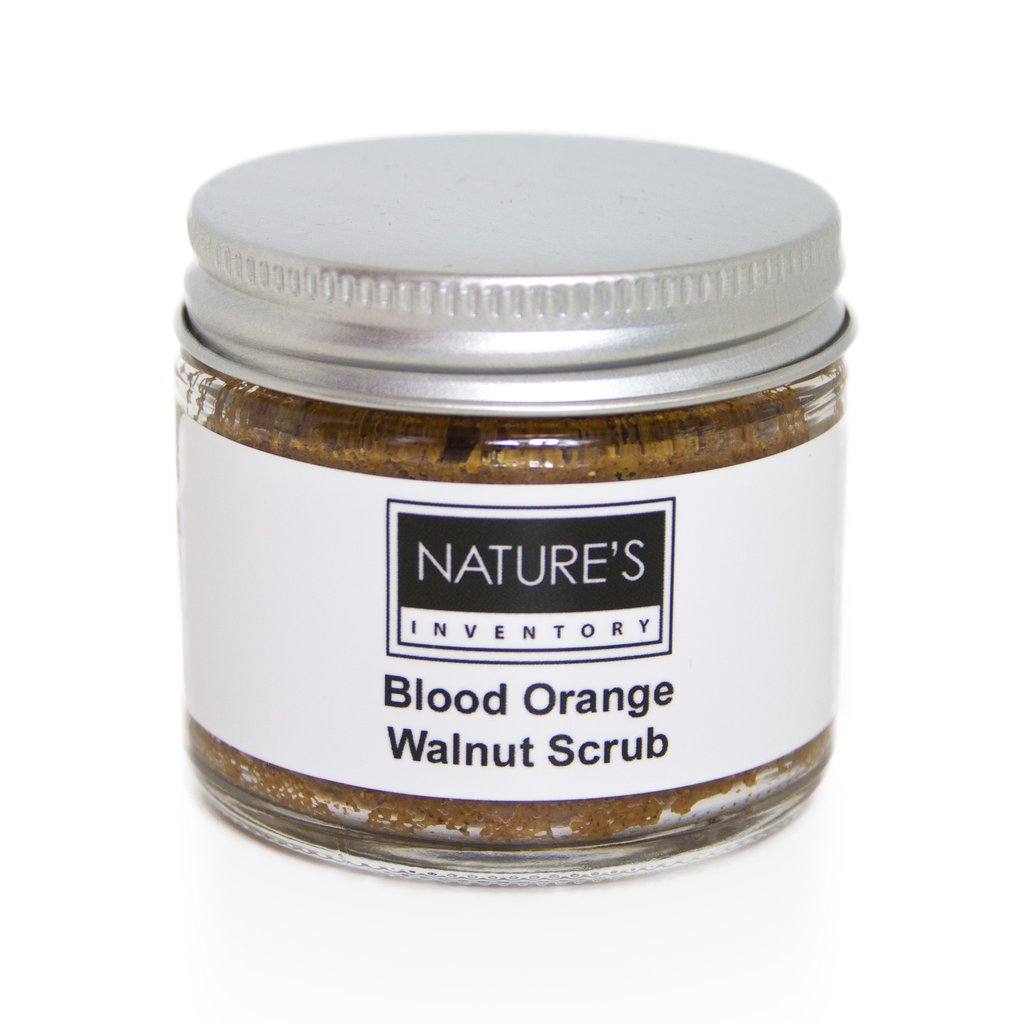 Blood Orange Walnut Scrub