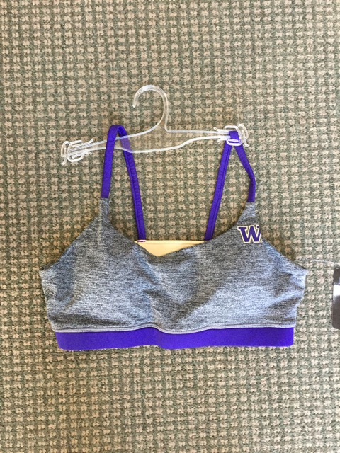 UW Sports Bra Size Large