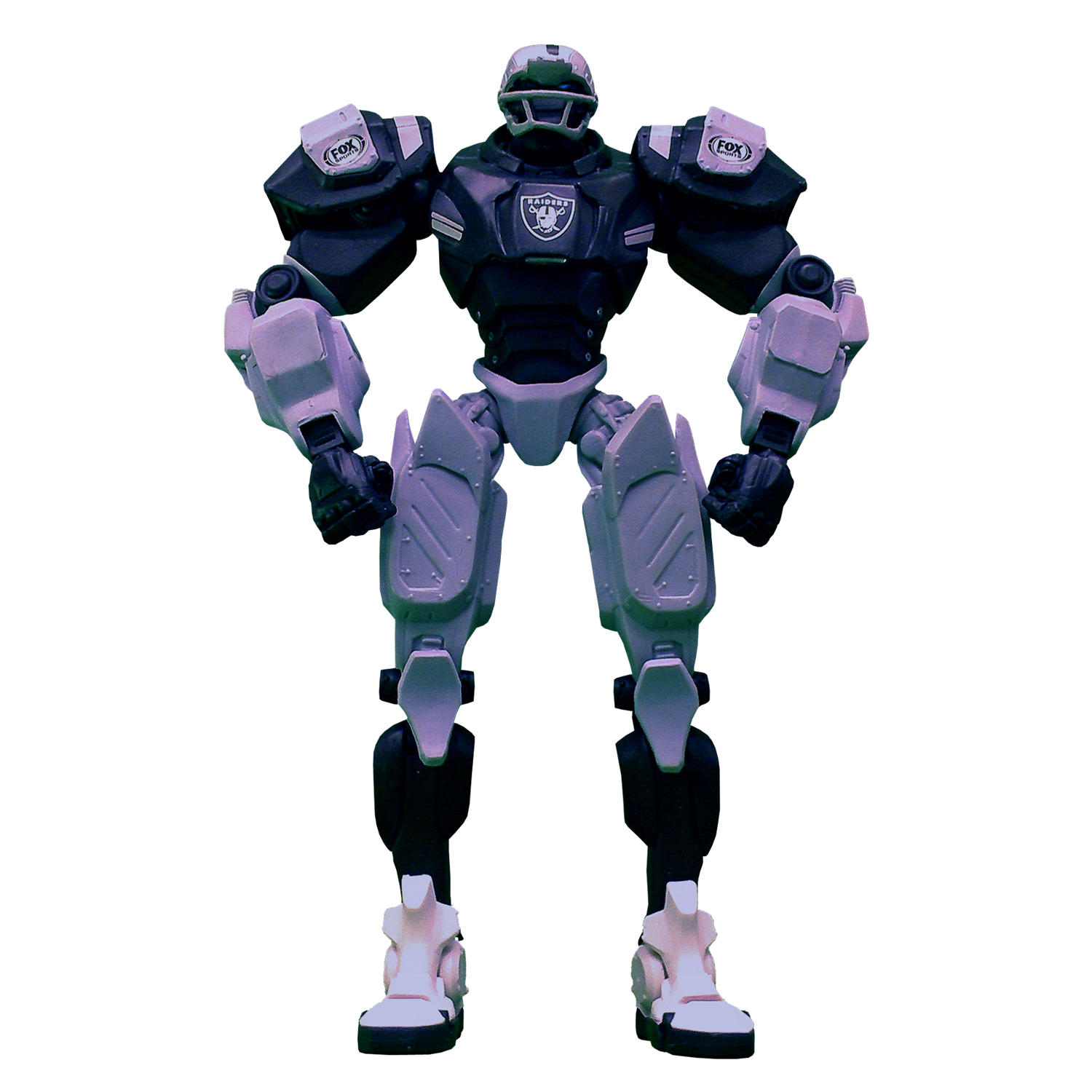 "Oakland Raiders 10"" FOX Cleatus Action Figure"