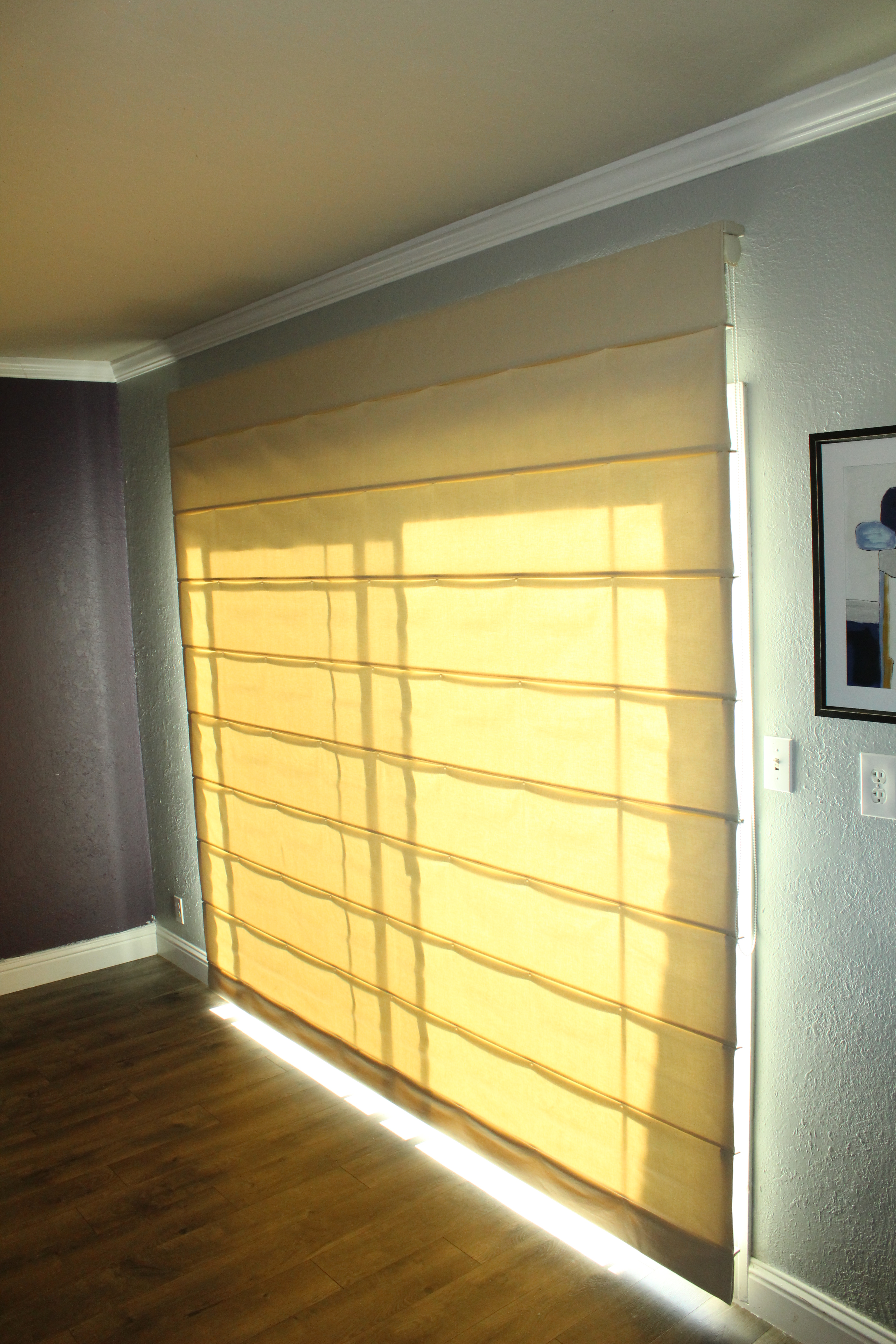 Fabric Sliding Door Shades