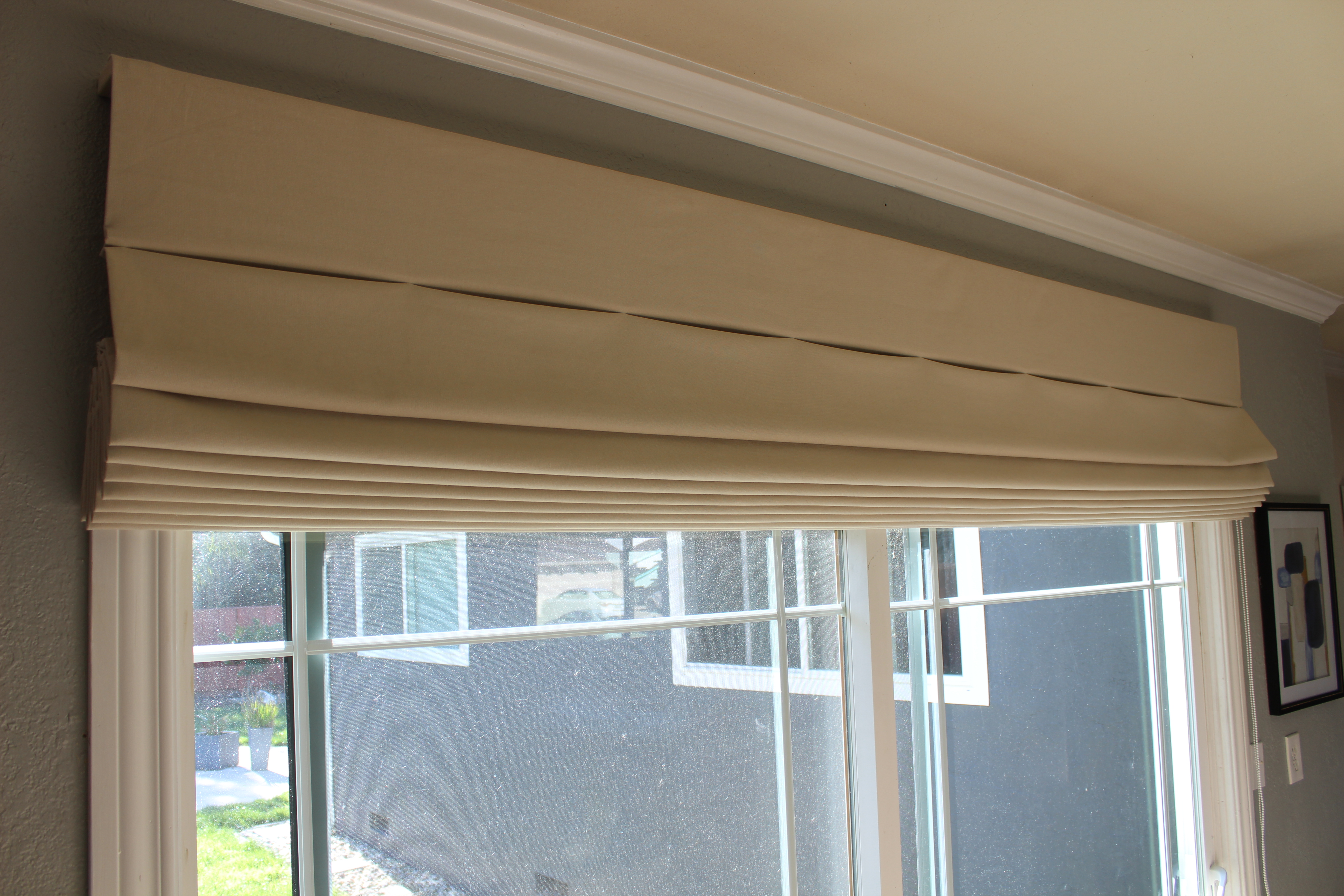 Bizx Fabric Sliding Door Shades