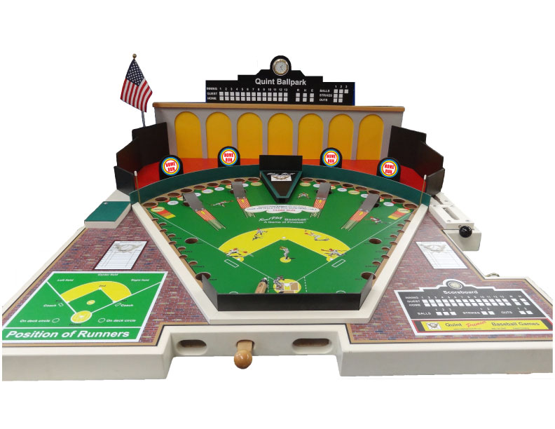 Mechanical Baseball Pinball Machine