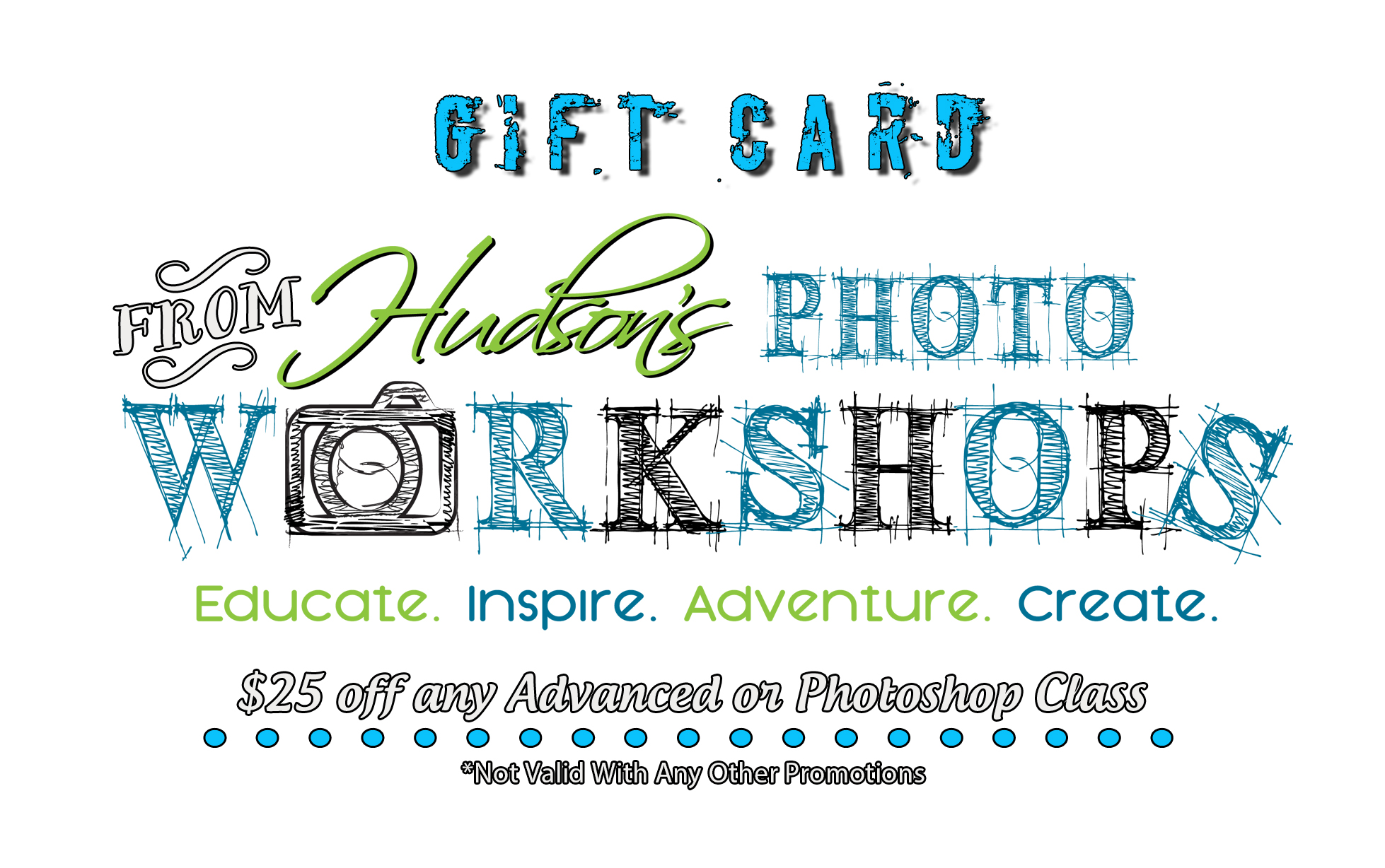 Photography Class Gift Card