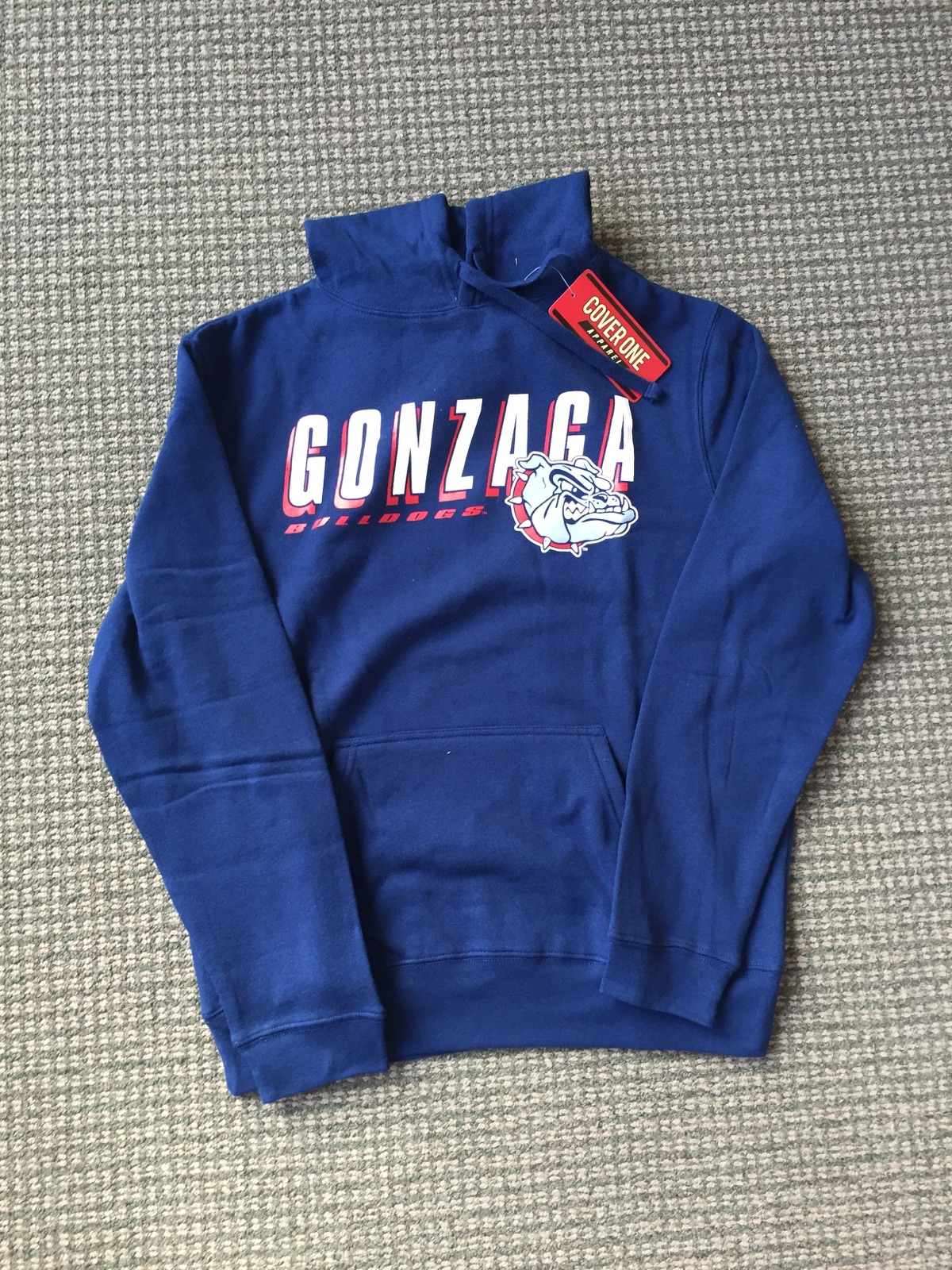 Gonzaga Hooded Sweatshirt Size Large