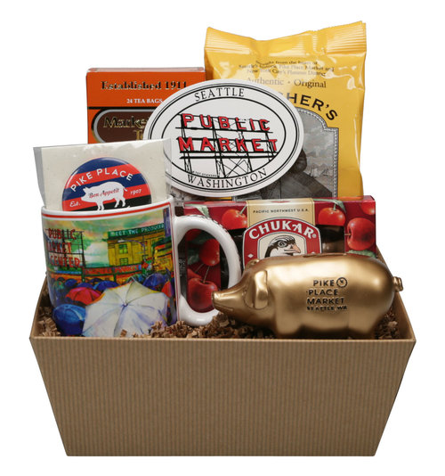 Best of Pike Place Deluxe Gift Basket
