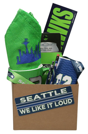 Simply Seahawks Deluxe Gift Basket