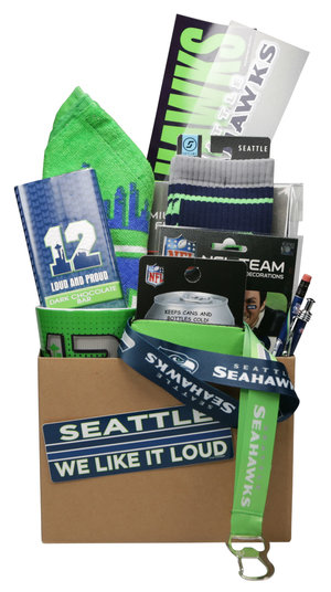 Simply Seahawks Ultimate Gift Basket